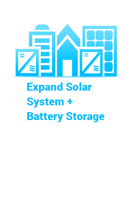Expand your Existing Solar System or Battery Storage