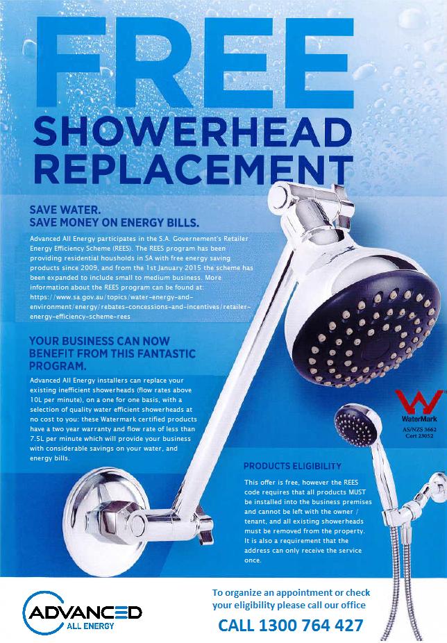 REES shower head